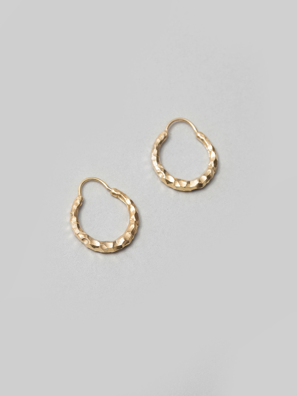 All Blues Hungry Baby Snake Earrings - Polished Vermeil