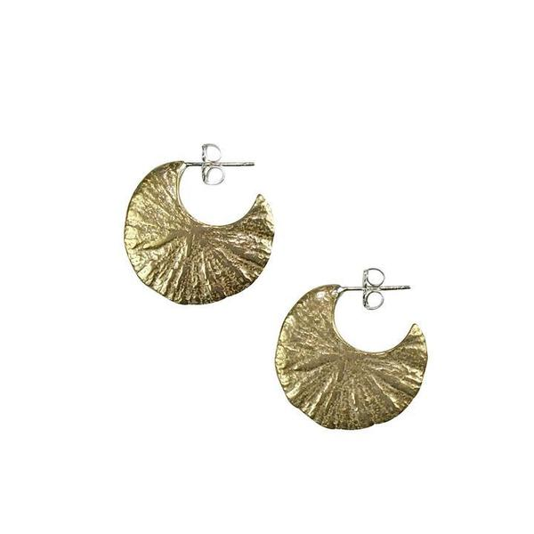 Amanda Hunt Eclipse Hoops - Bronze