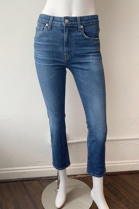 CQY Denim Friend High Rise Straight Leg Jeans
