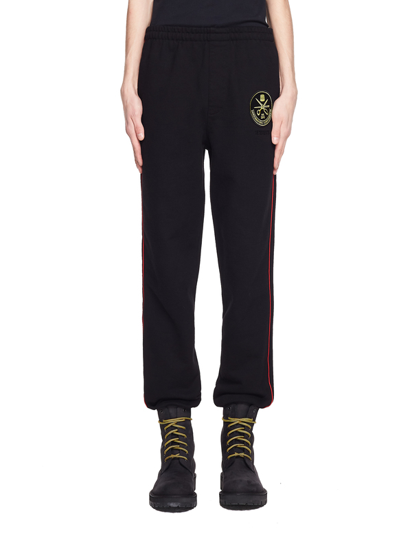 Vetements Cotton Police Sweatpants - Black
