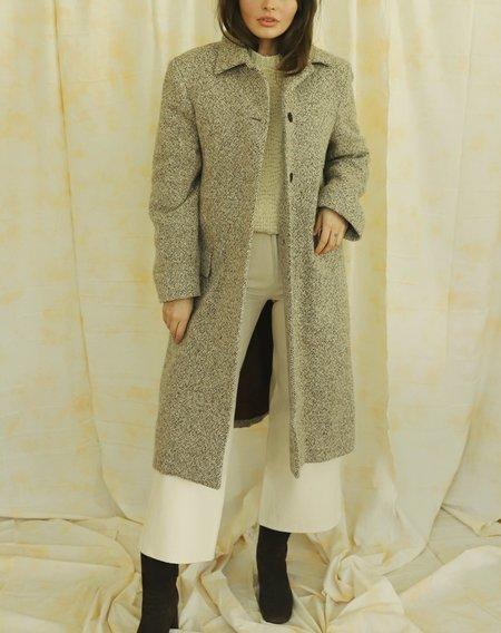 Vintage Wool Coat - Brown