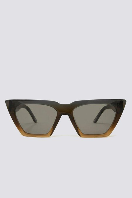 CARLA COLOUR Acetate Modan Sunglasses - Station/Ash