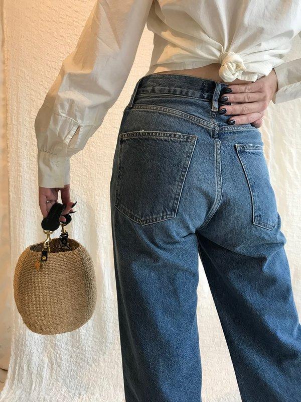 AGOLDE Ren Hi Rise Wide Leg - Censor