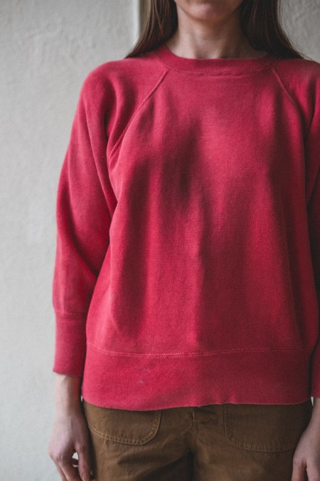 VINTAGE SWEATSHIRT 01 - red