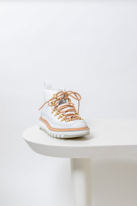 Fracap Romeo Ripple Boot - White