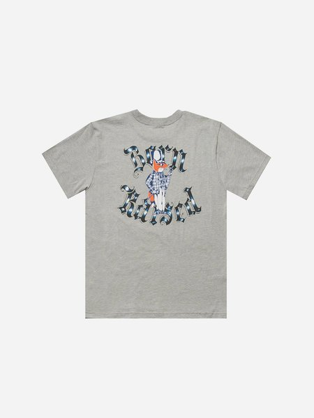 BORN X RAISED A. Ross Snooty Tee - Heather Grey