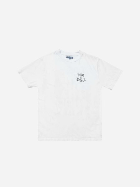 BORN X RAISED Nightstalker Tee - White