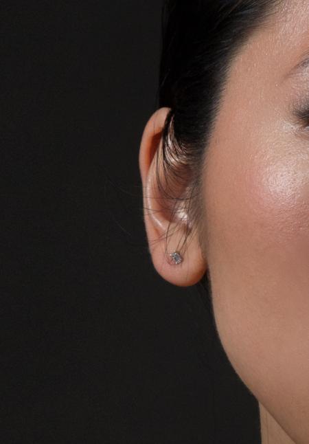 Hestia Jewels Princess Cut Diamond Earrings