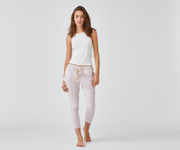Crow Collective Journey Pants - Pink Opal