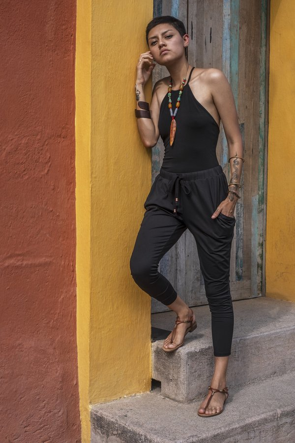 Crow Collective Journey Pants - Pitch Black