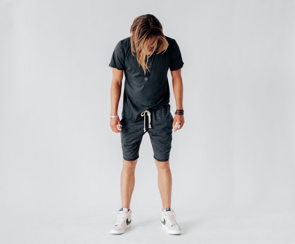 Crow Collective Journey Shorts - Charcoal