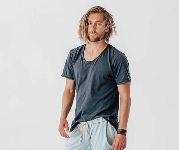 Crow Collective The Sojourner tee - Faded Black