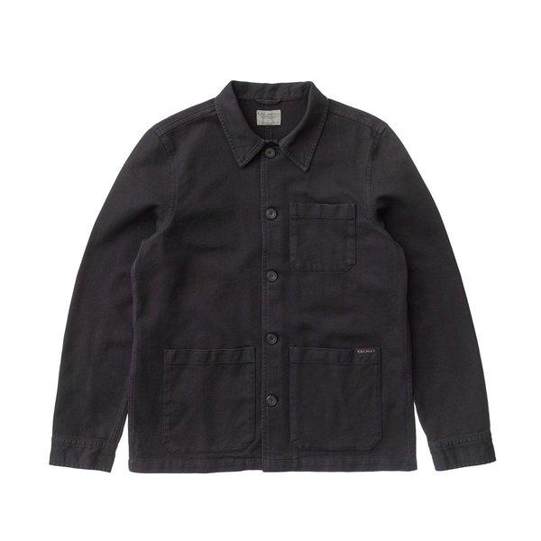 Nudie Jeans Barney Worker Jacket - Black