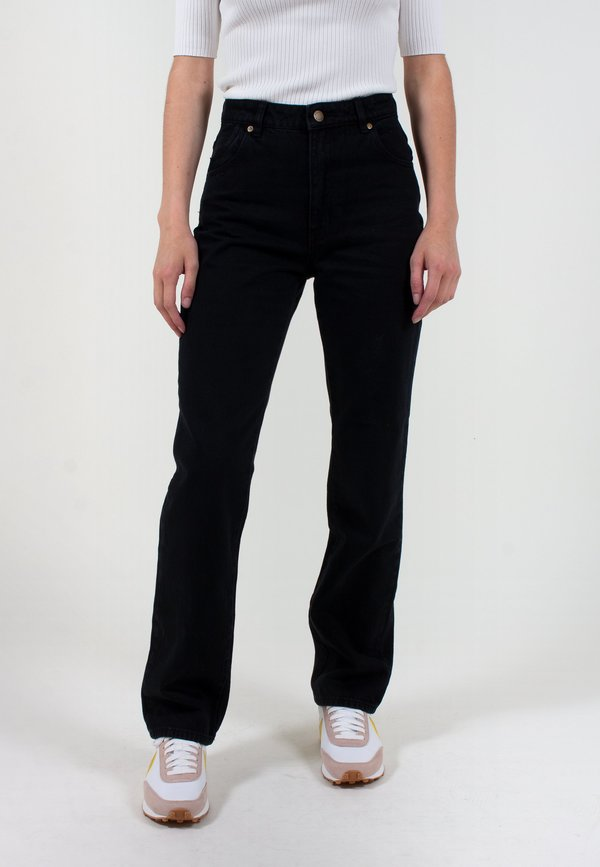 Rollas Original Straight Long Jeans - ash black