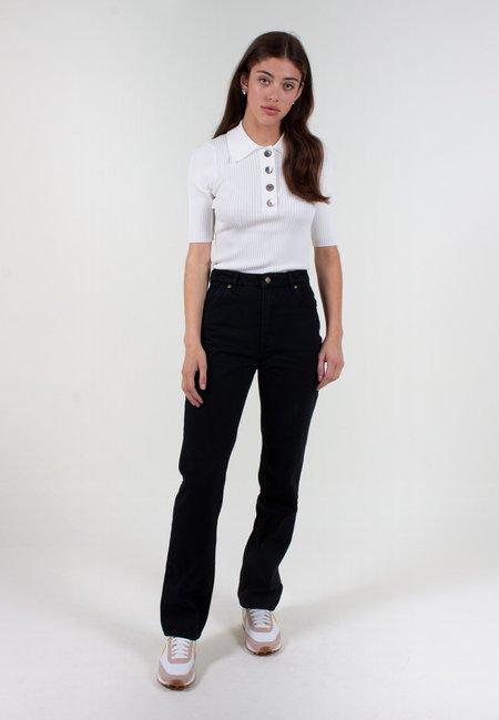 Rollas Original Straight Long Jeans - ash black