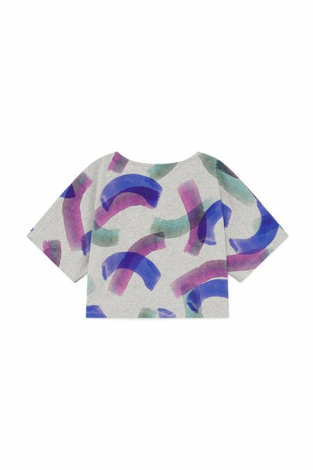 KIDS Bobo Choses All Over Painted T Shirt - GREY