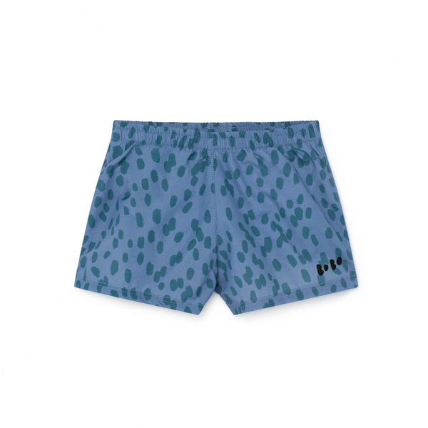 KIDS Bobo Choses Animal Print Swim Shorts - BLUE