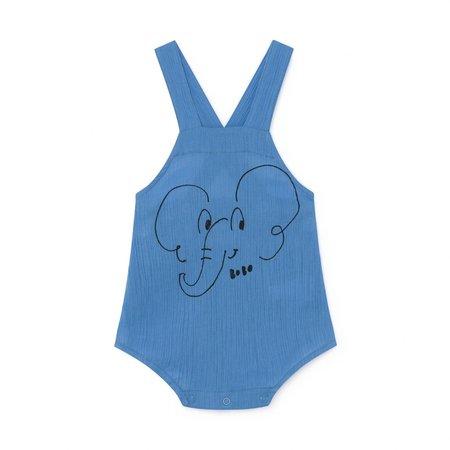kids Bobo Choses Elephant Romper - blue