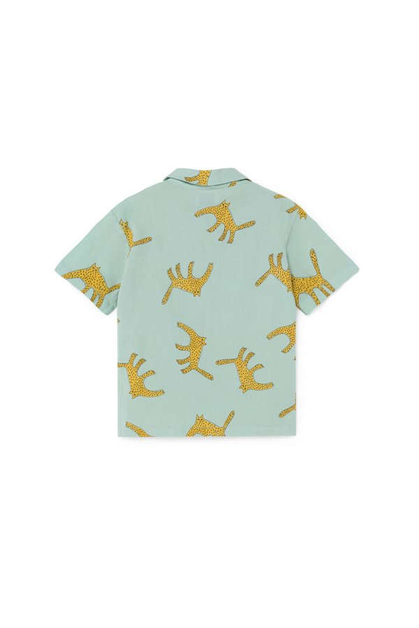 Kids Bobo Choses Leopards Shirt - Blue