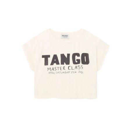 Kids Bobo Choses Tango Short Sleeve T Shirt - white
