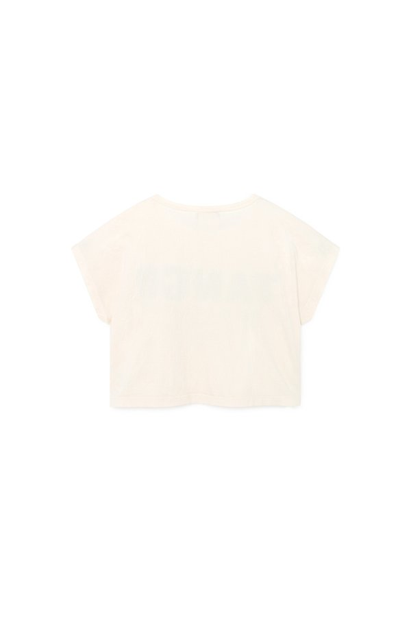Kids Bobo Choses Tango Short Sleeve T Shirt - white