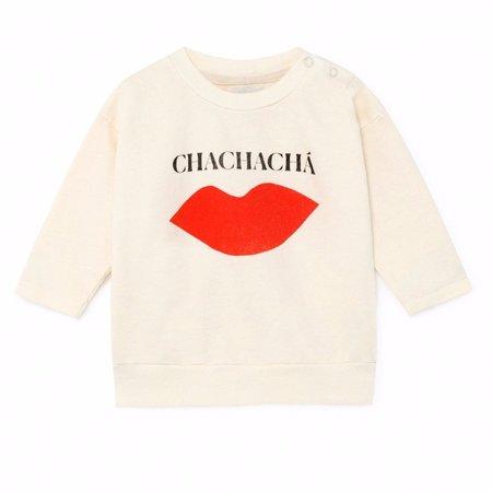 kids bobo choses chachacha kiss baby sweatshirt