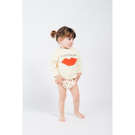 kids bobo choses chachacha kiss baby sweatshirt