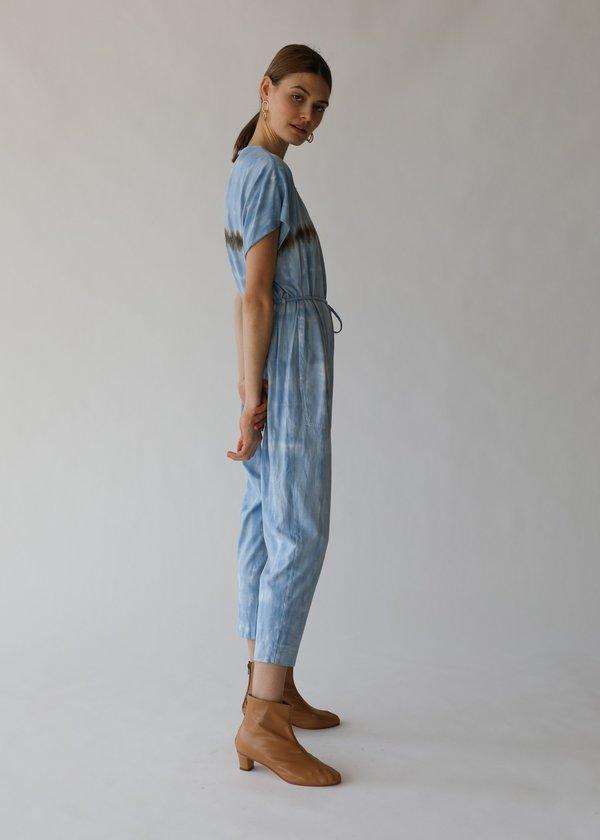 Raquel Allegra Jumpsuit - Blue Stripe Jersey