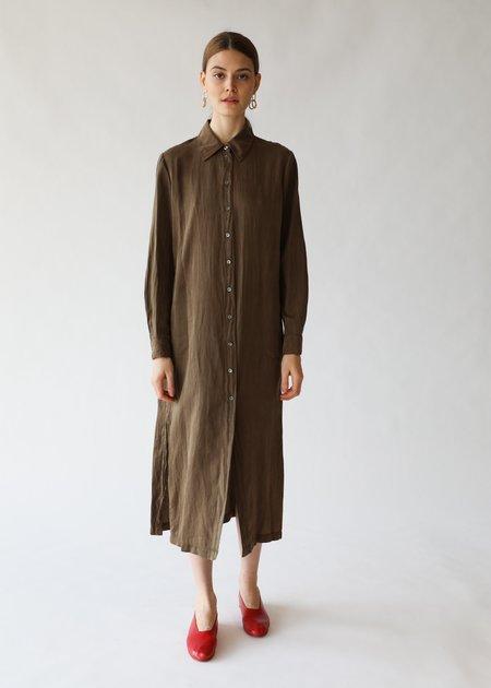 Raquel Allegra Tunic Dress - Army Green