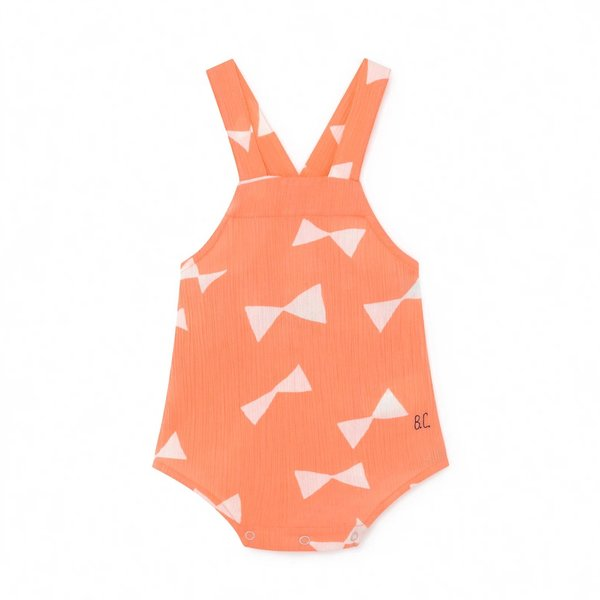 Kids Bobo Choses All Over Bow Romper - Pink