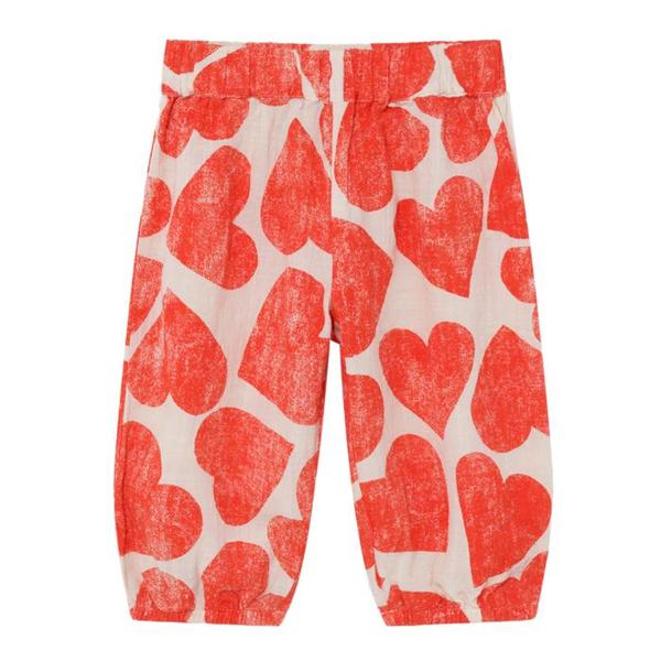 Kids Bobo Choses Baggy Pants - All Over Hearts Print