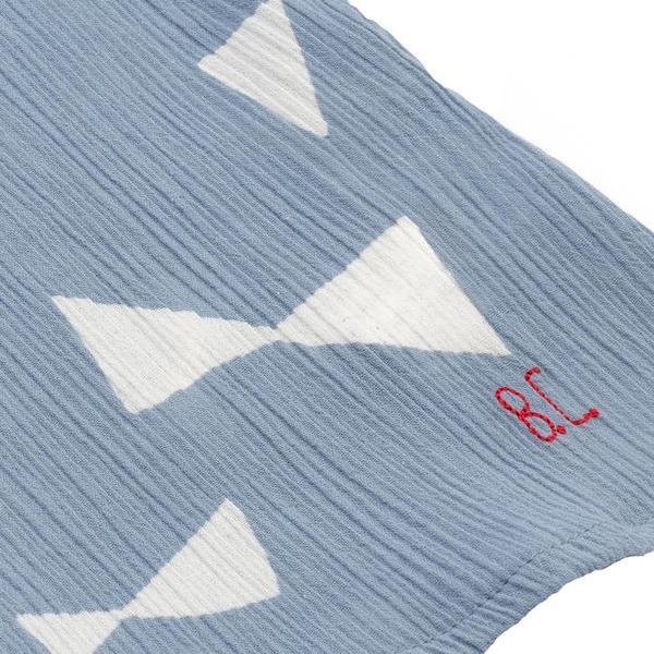 Kids Bobo Choses Short Sleeved Blouse - All Over Bow Print
