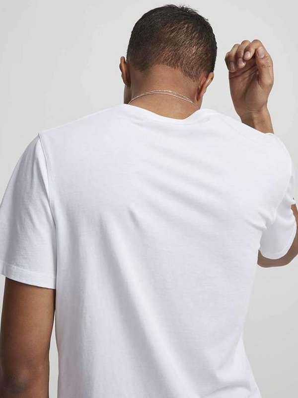 NN07 Ethan Print Tee - White