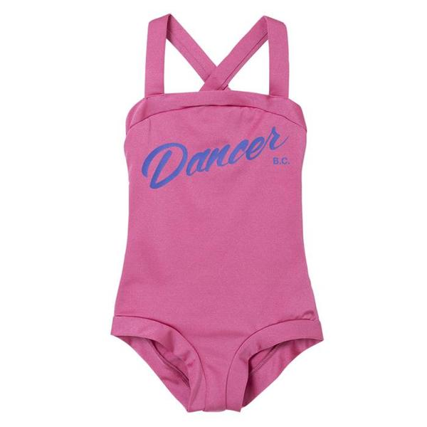 Kids Bobo Choses Shorty Swimsuit With Dancer Print - Pink