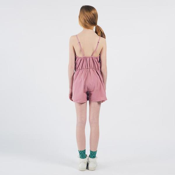 Kids Bobo Choses Sleeveless Romper With Waves Print - Pink