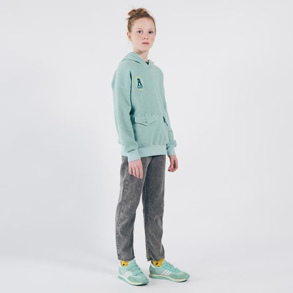 Kids Bobo Choses Sweatshirt With Hood - Green