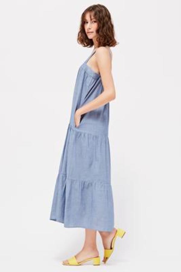 Lacausa Sunflower Dress - Chambray