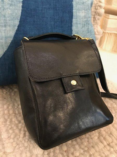 Clare V. Pocket Bag - Rustic Black