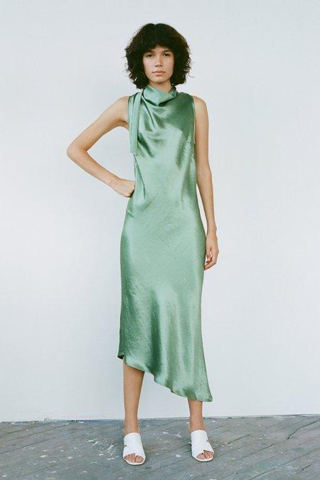 Nomia Cowl Bias Dress - Jade