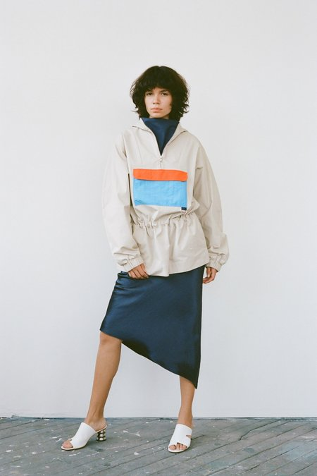 Nomia Pullover Anorak - Colorblock Multi