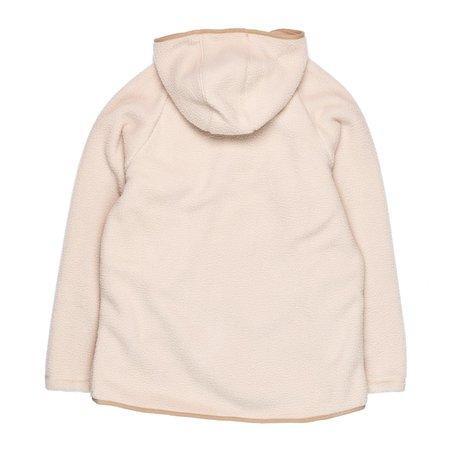 Gramicci Boa Fleece Hooded Jacket - Ivory