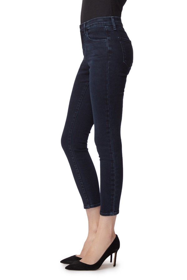 J Brand 835 Mid Rise Crop Skinny Jeans - Complex