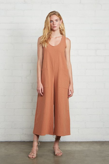 Rachel Pally Linen Canvas Remy Jumpsuit - Auburn