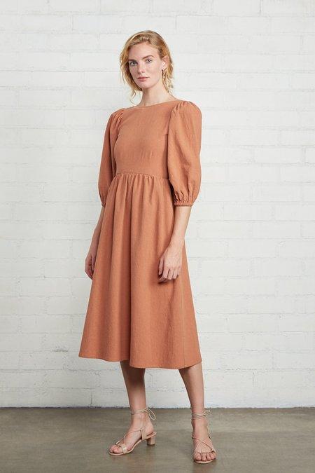 Rachel Pally Linen Canvas Roma Dress - Auburn