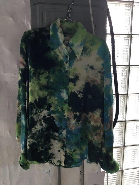 KkCo Camp shirt - green