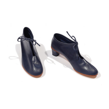 Martiniano High Bootie - Navy