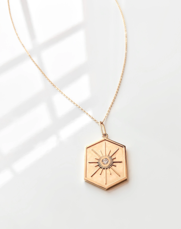 Thatch Guiding Star Necklace - Gold