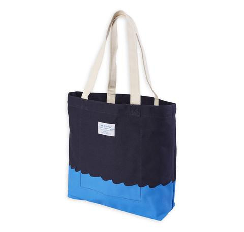 M. CARTER CO. - Wave Bottom Tote - Navy