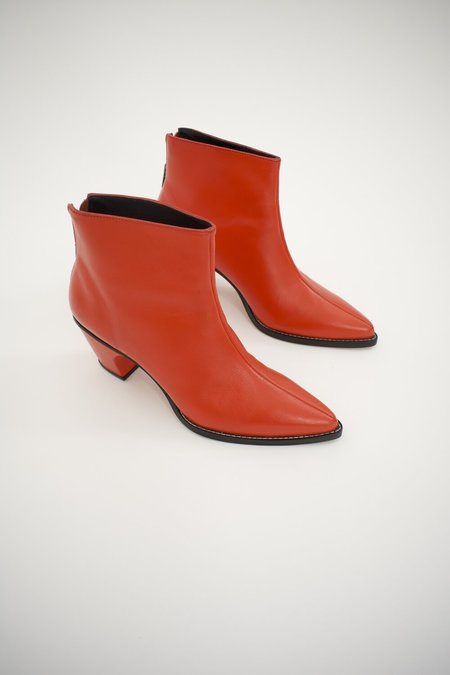 Rachel Comey SONORA BOOT - RED CALF LEATHER