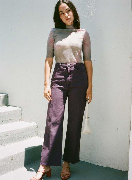 Rachel Comey PENNON PANT - DARK PURPLE DENIM